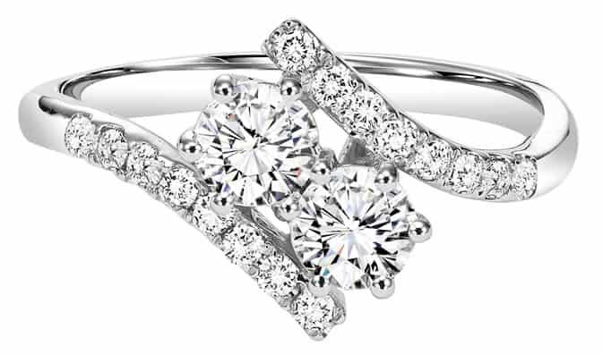 Two Stone Diamond Rings